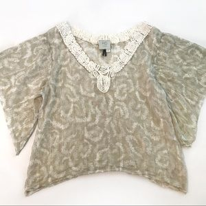HD in Paris Anthropologie Solstice Breeze Blouse 2